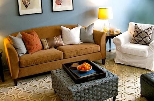 Eclectic Design Living Room
