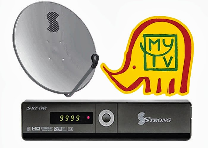 LATEST MyTV FREQUENCY, SYMBOL RATE, SATELLITE POSITION