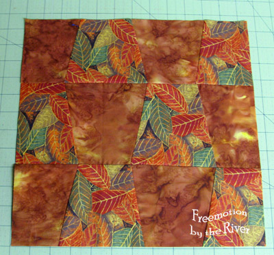Batik tumbler block