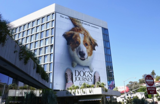Giant A Dogs Journey movie billboard