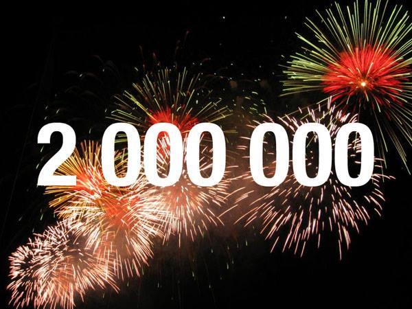 """2.000.000 """"ΑΛΗΘΕΙΕΣ""""!!!"""