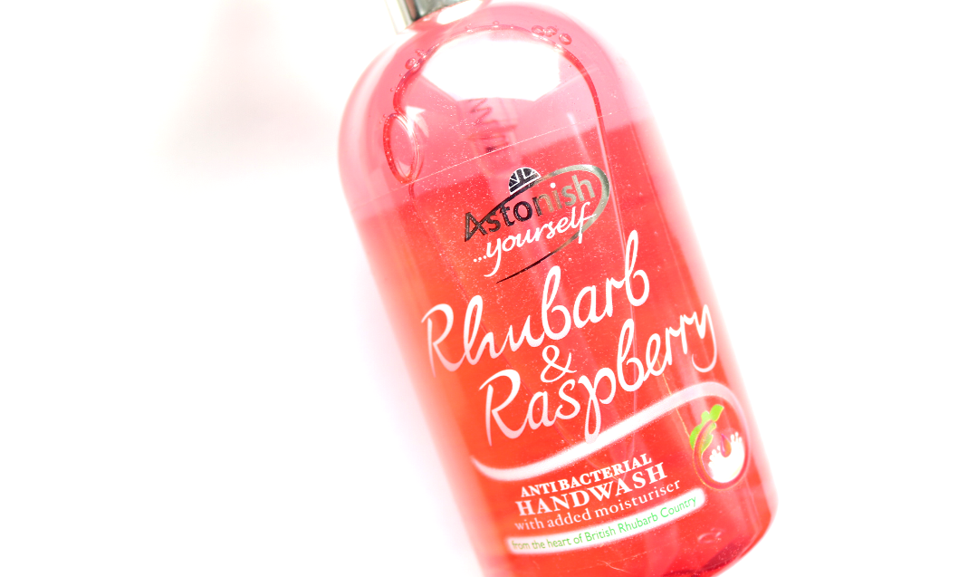 Astonish Rhubarb & Raspberry Antibacterial Handwash