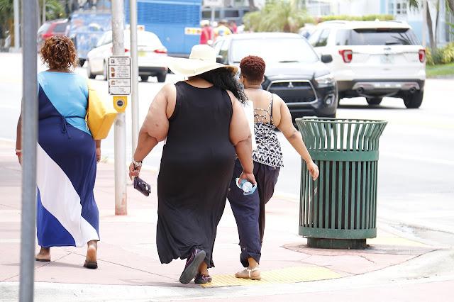 Die Mehrheit der Bevölkerung ist zu dick.