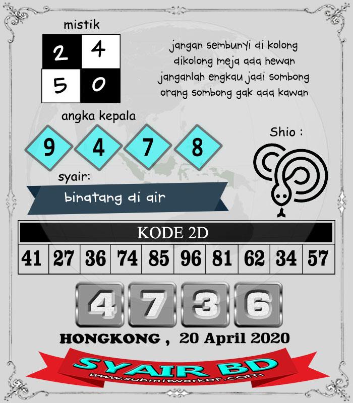 syair bd hongkong