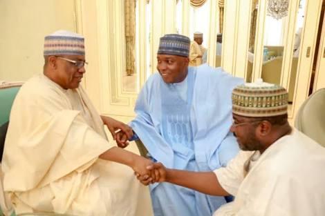 Saraki Meets IBB, PDP Delegates In Niger State (Photos)