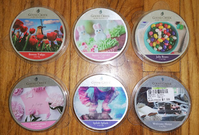 Goose Creek Candle Wax Melts Reviews - March 2019