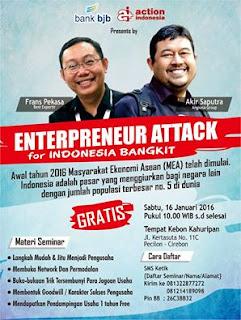 ENTERPRENEUR ATTACK for INDONESIA BANGKIT