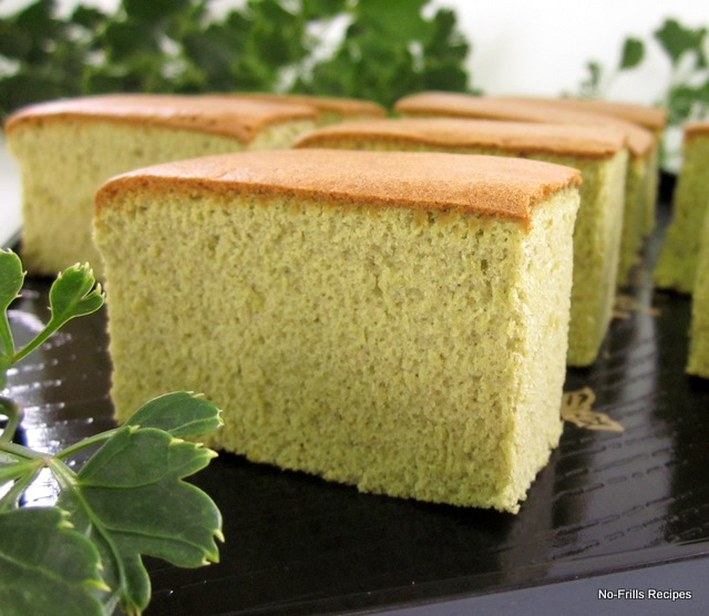 Matcha Green Tea Castella Cake Recipe