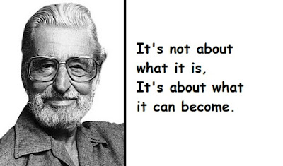 """Dr. Seuss Quotes What it Can Become"""