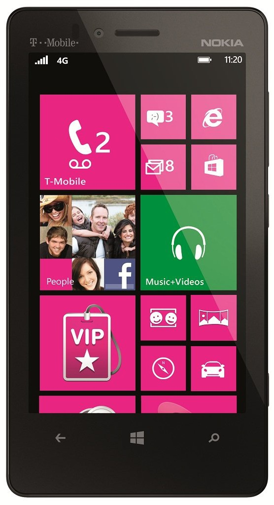 Nokia Lumia 810 for T-Mobile receives GDR2 and Amber software updates