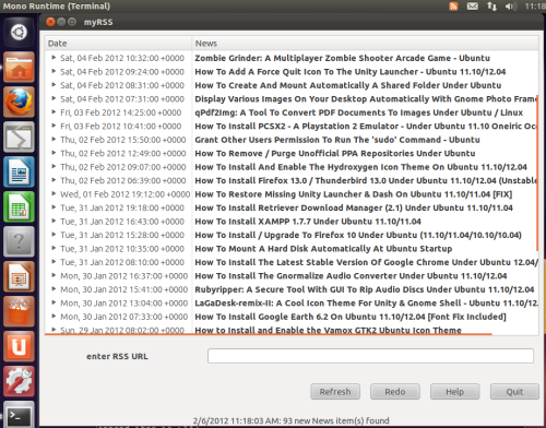A List Of The Best 5 RSS Feed Readers For Ubuntu 11 10/12 04