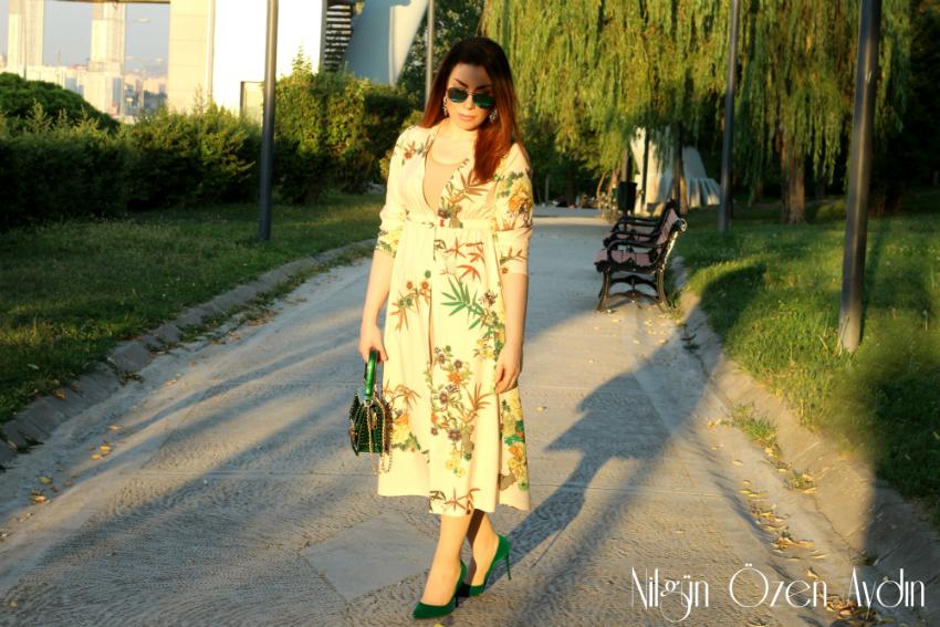 alışveriş-gömlek elbise-çiçekli gömlek elbise-fashion blogger-moda blogu