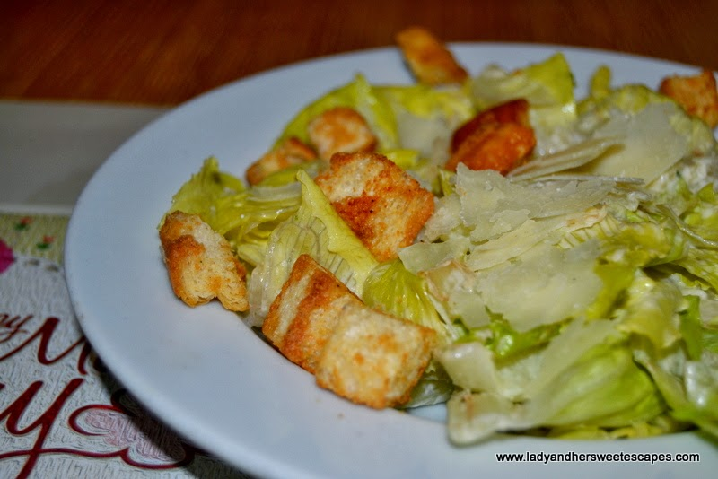 Caesar Salad at Bennigan's The Dubai Mall