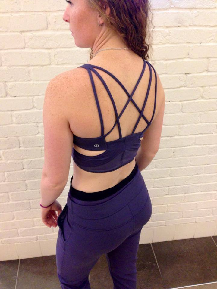 lululemon exquisite bra trouser crop