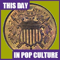 The the Coinage Act was created on April 22, 1864.