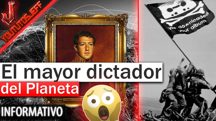 Mark Zuckerberg es el mayor dictador del planeta - Según el fundador de Pirate Bay (Peter Sunde)