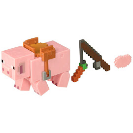 Minecraft Pig Survival Mode Figure
