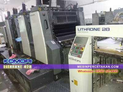 Komori Lithrone 428 4 Warna