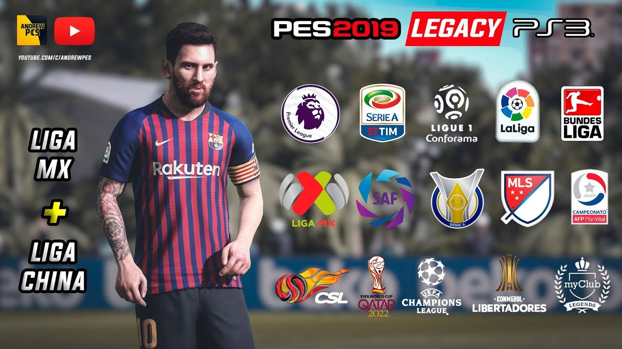 PES 2018 PS3 Option File PES 2019 Legacy by AndrewPES Season