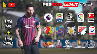 PES 2018 PS3 Option File PES 2019 Legacy by AndrewPES Season 2019