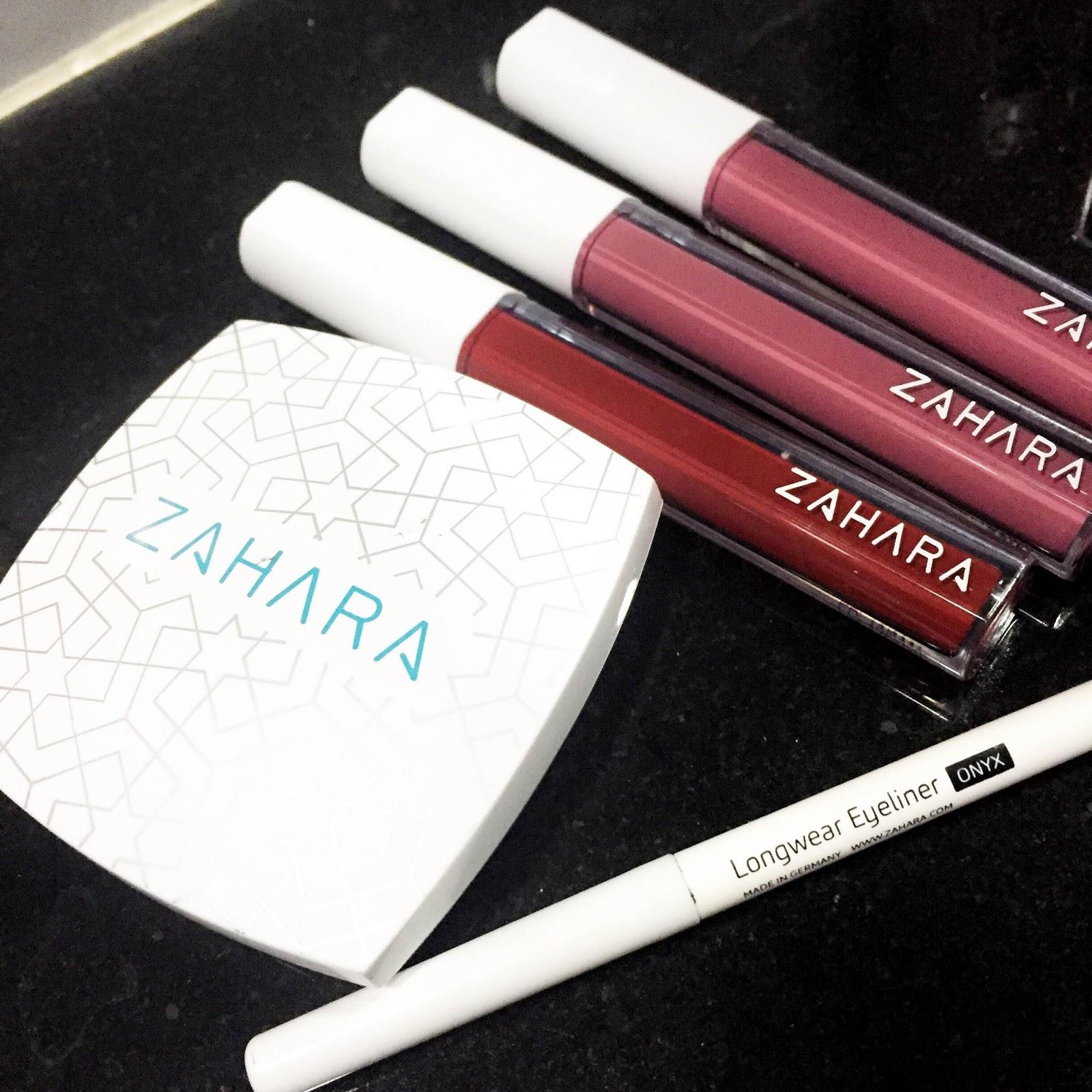 Advertorial Zahara Cosmetics