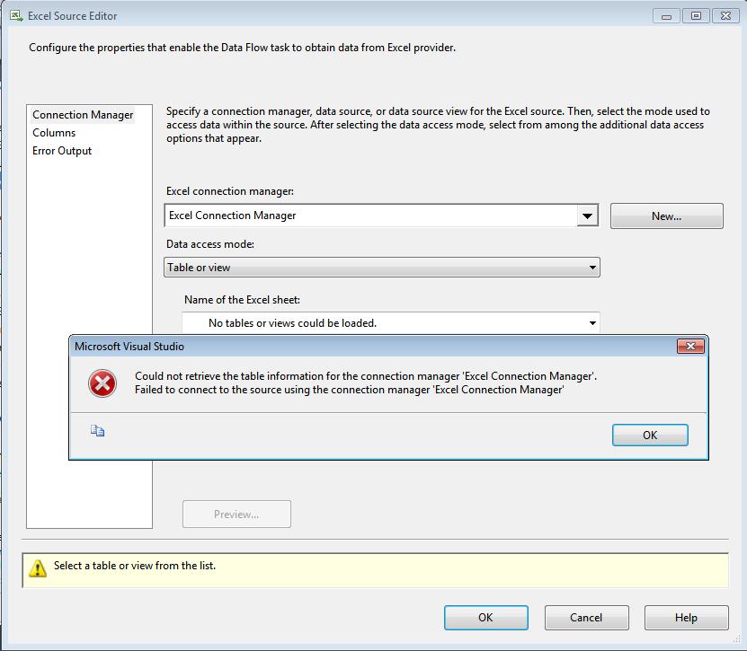 Excel Error Log: Origen Excel 2010 Y Destino Archivo Plano