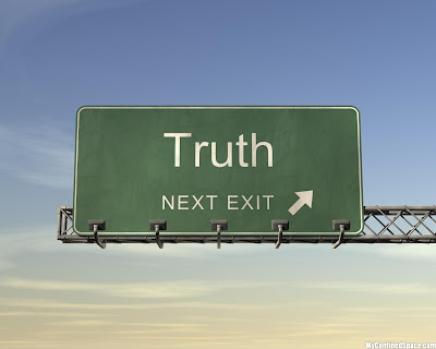 What is truth?  Pilate asked that, so are we?  Thoughts at DTTB.
