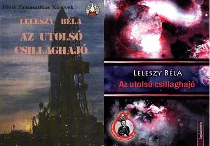 Leleszy - Az utolsó csillaghajó regény bemutatás
