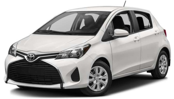 2020 Toyota Yaris exterior and interior sizes guide
