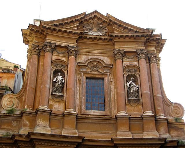 Chiesa della Santissima Trinità dei Pellegrini (Church of the Most Holy Trinity of Pilgrims), Via dei Pettinari, Rome