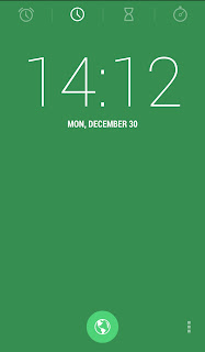 KitKat Health Clock GreenTheme