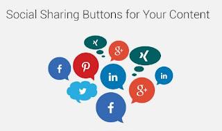 Cara Membuat Tombol Berbagi (Social Share Button) Show Hide Keren Responsive
