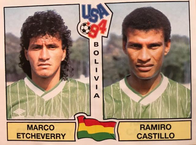 Figurine Bolivia Usa '94