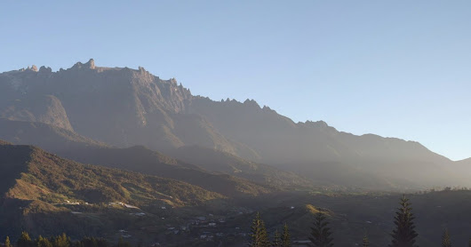 Panoramic Photo of Mount Kinabalu