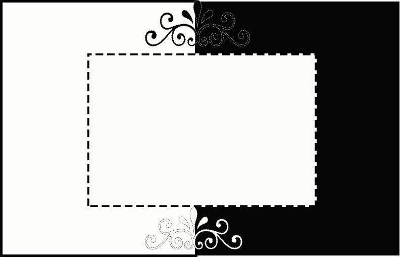 Convites Em Preto E Branco Convites Digitais Simples