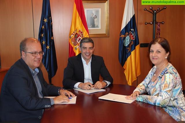 El Gobierno de Canarias y ASAGA firman un convenio de colaboración para fomentar el consumo de productos locales