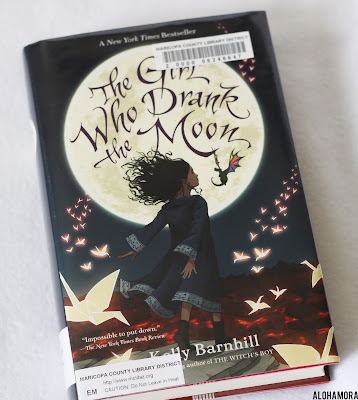 The Girl Who Drank the Moon by Kelly Barnhill is the Newbery Medal Winner aka best book for kids.  5th grade to 8th grade.  Gets 4.5/5 stars in my book review.  Beautiful coming of age story with Luna, a young girl, who has amgin she got from Mother Natura.  Well done, but a little slow at times. juvenile lit, middle grade fiction, magic, fantasy, fairy tales, sorrow, love is powerful, love multiplies Alohamora Open a Book  http://alohamoraopenabook.blogspot.com/