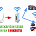 Cara Menangkap Wifi dan Menyebarkannya Dengan Hotspot Login Page di Mikrotik RB941-2nD