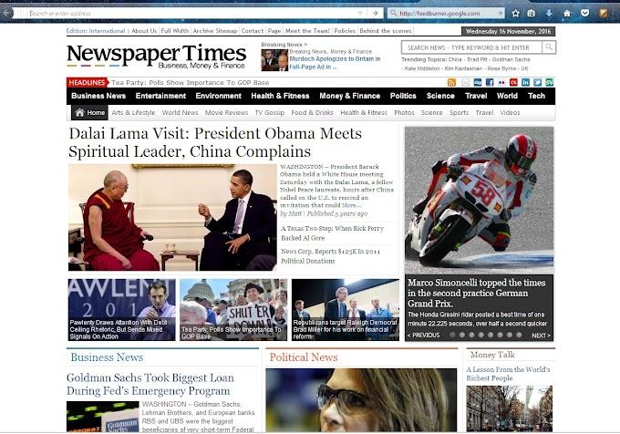NewspaperTimes WordPress Magazine News Theme by Magazine3 Free Download
