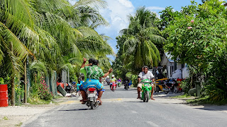 Tuvaluans love their motorbikes