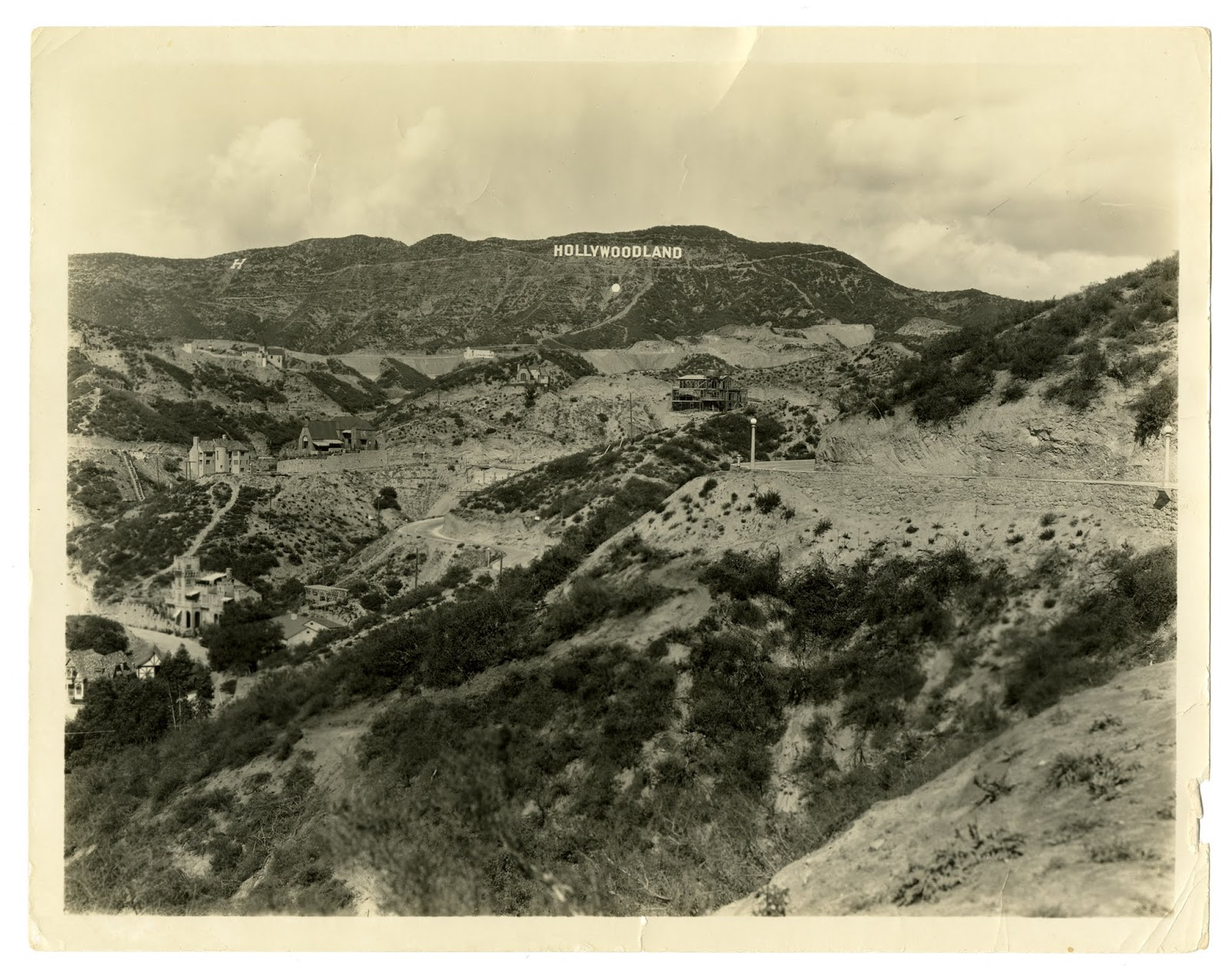 california historical society looking at hollywoodland and how