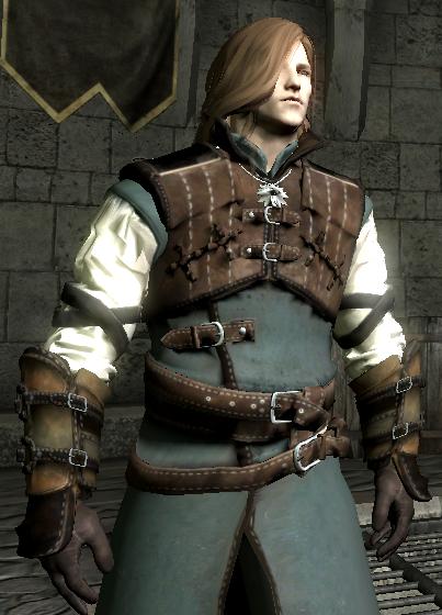 Skyrim Mods Highlights: Witcher 3 Ursine armor v1
