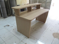 Meja Broadcast - Meja Siaran Radio - Furniture Semarang Broadcast Workstation Table