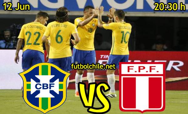 VER STREAM RESULTADO EN VIVO, ONLINE:  Brasil vs Perú