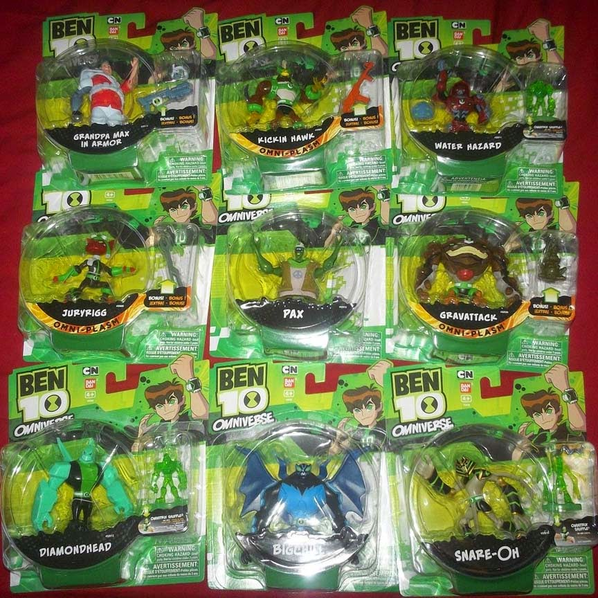 Wanted Toys Ben 10 Omniverse