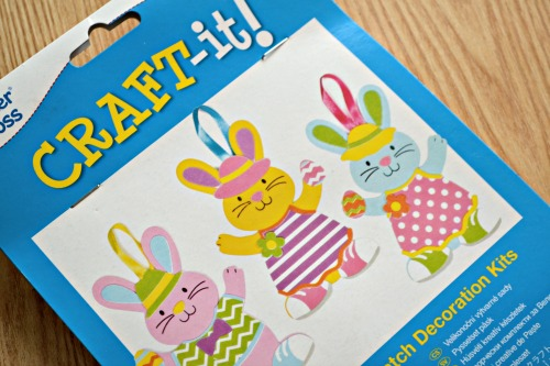 Easter arts & crafts from Baker Ross @ ups and downs, smiles and frowns