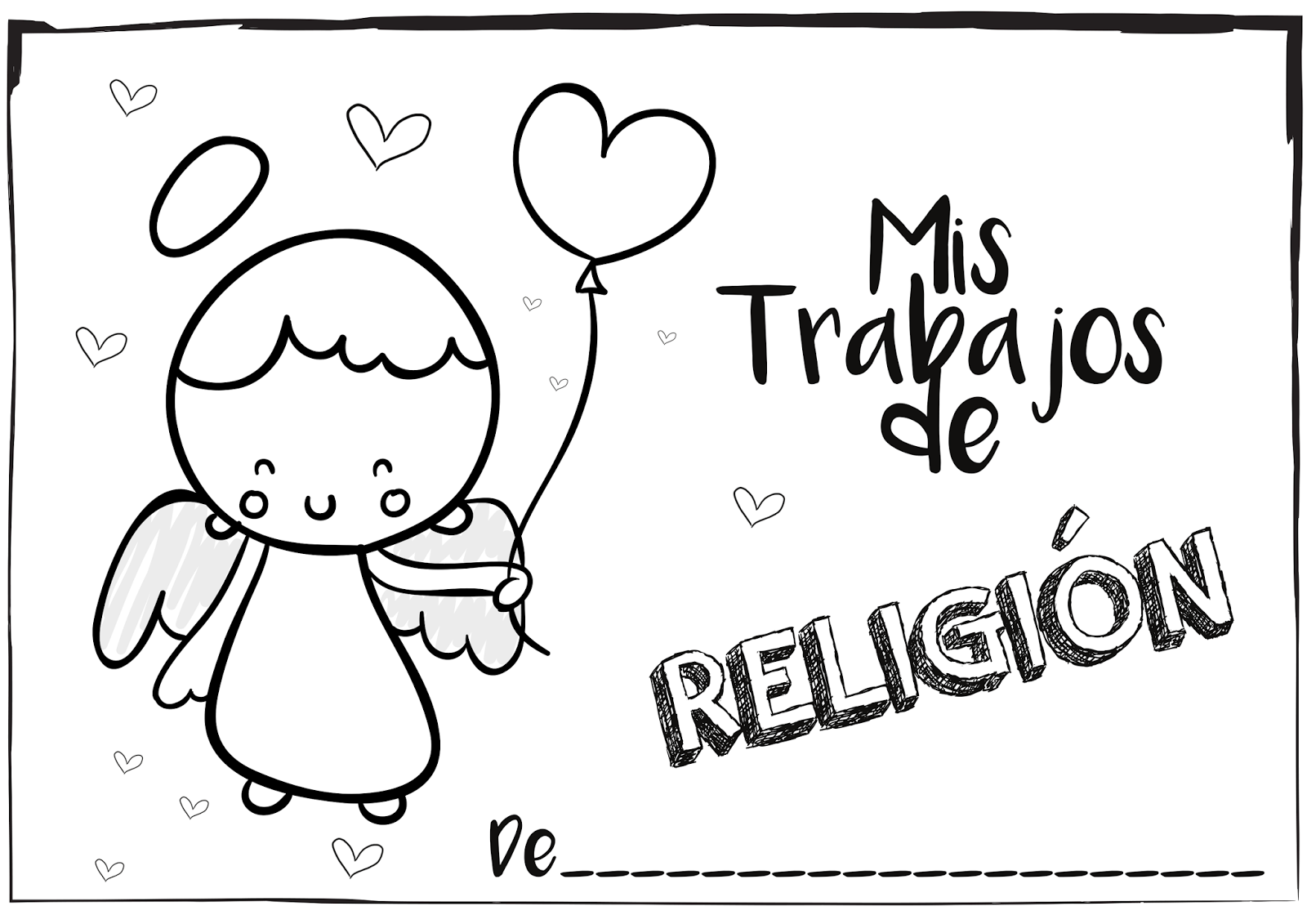 Dibujos Clase De Religion: Si Quieres Aprender, ENSEÑA.: Portadas