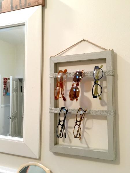 The Best Way to Organize Eyeglasses www.homeroad.net