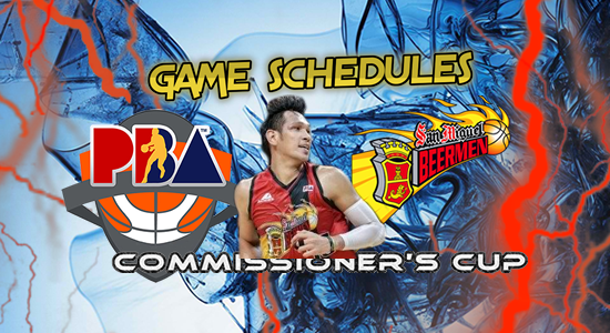 List of San Miguel Beermen Game Schedules 2017 PBA Commissioner's Cup