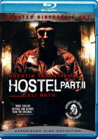 Hostel Part II 2007 BRRip 300MB Hindi Dual Audio UNRATED 480p Watch Online Full Movie Download Worldfree4u 9xmovies